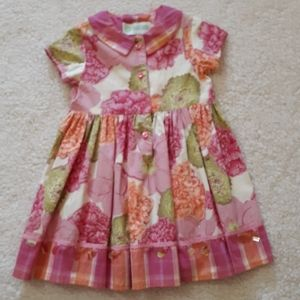 Baby Lulu Summer Dress Size 24 months~New with Tags~Boutique Brand